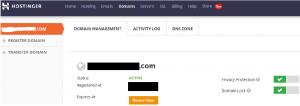 Hostinger Review On Domain