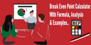 Read more about the article Break Even Point Calculator With Formula, Analysis and 2 Easy Examples