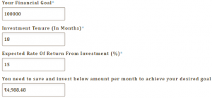 What Is Savings Goal Calculator and Its Purpose?