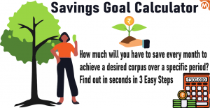 Savings Goal Calculator - 3 Steps To Know How Much You Need To Invest Monthly