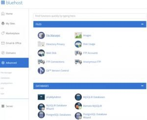 Bluehost India Review On Cpanel: