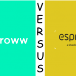 Groww Vs Espresso Broker By Sharekhan – Complete Review Within 10 Easy Points